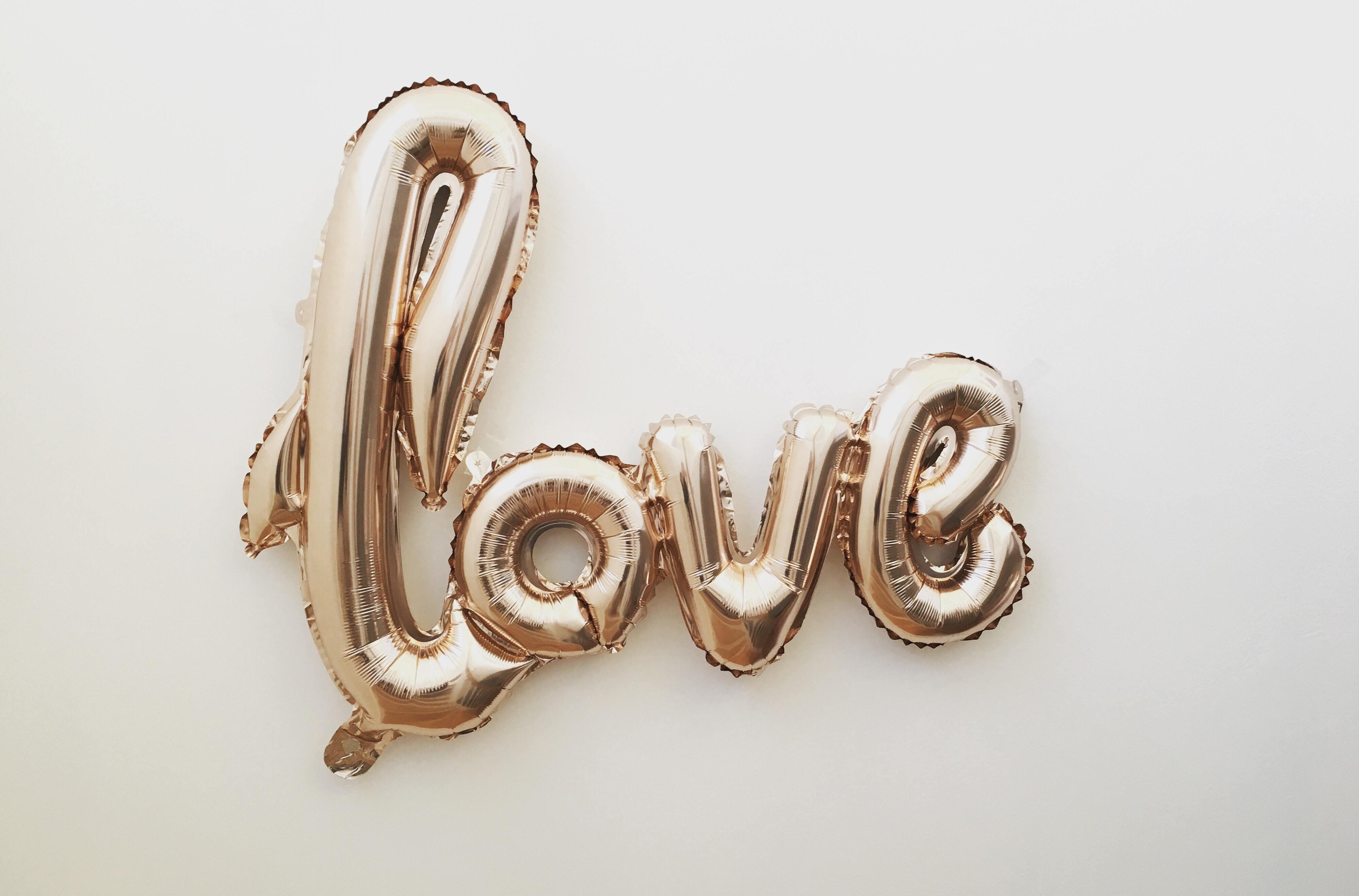 LOVEの風船