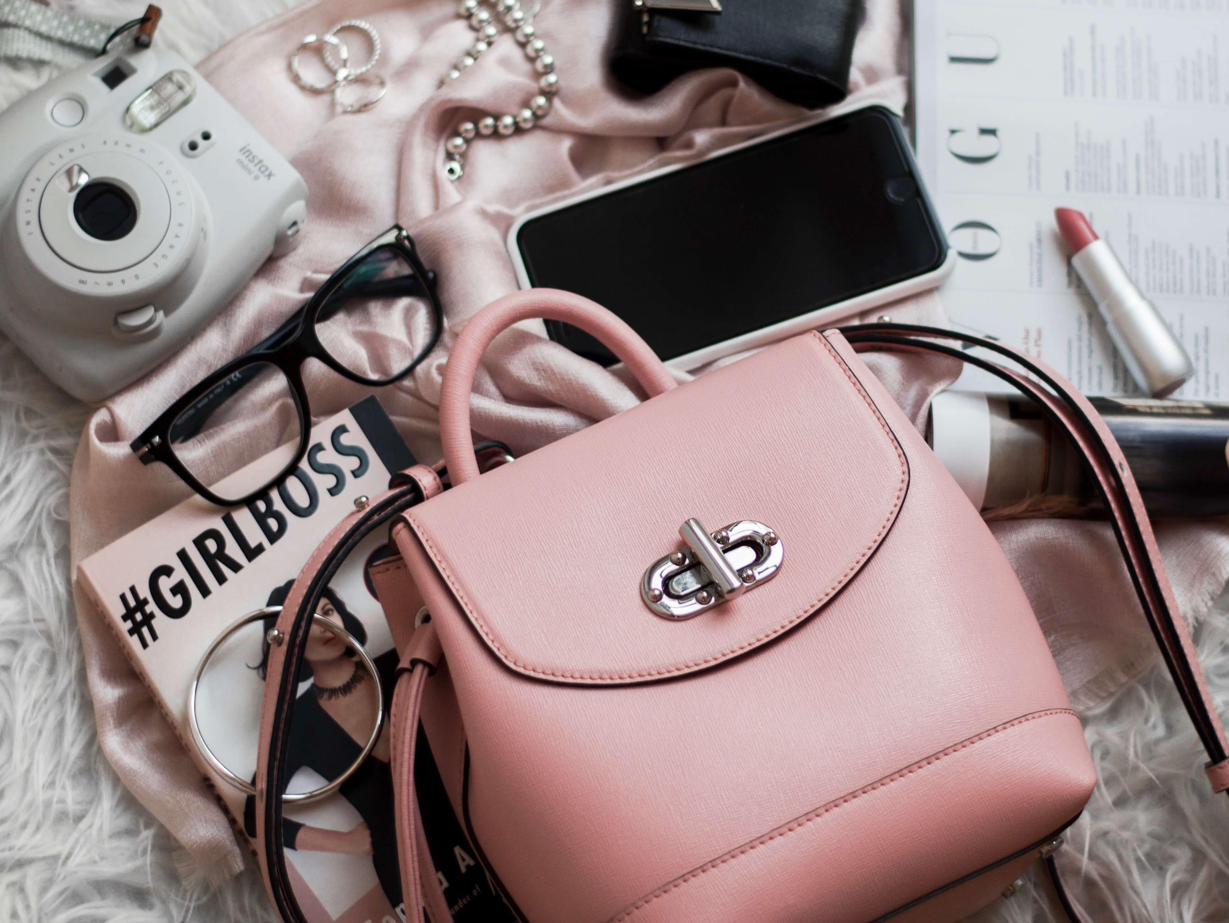 バッグ ピンク