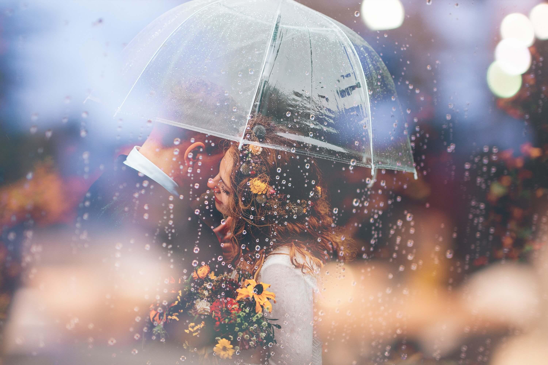 デート 雨
