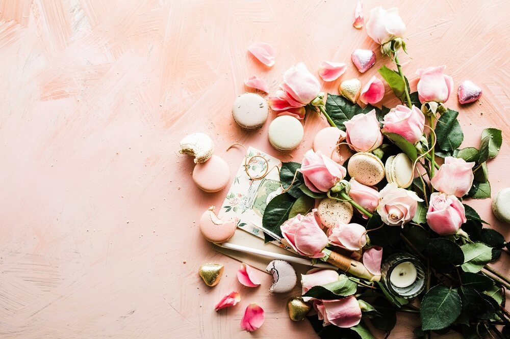横たわる花束