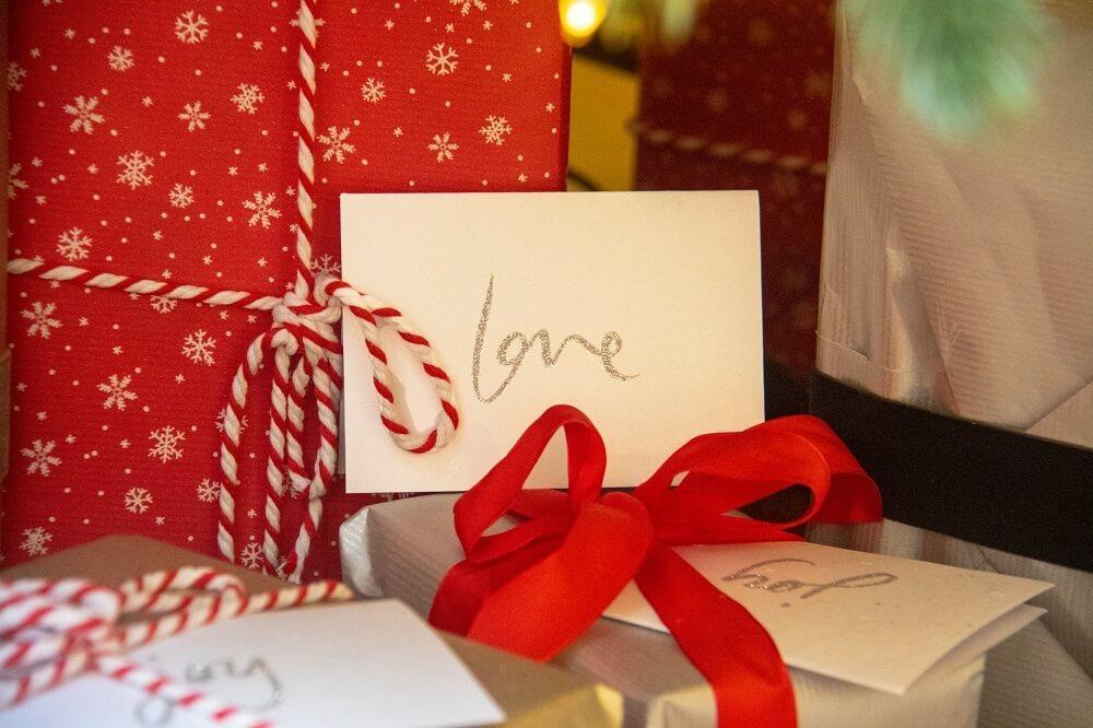 並ぶプレゼント