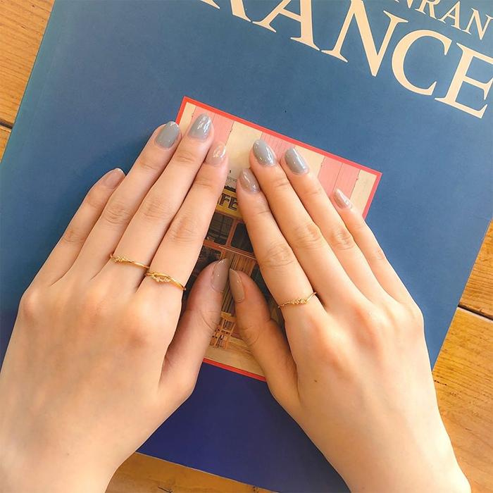 4℃ゴールドの指輪