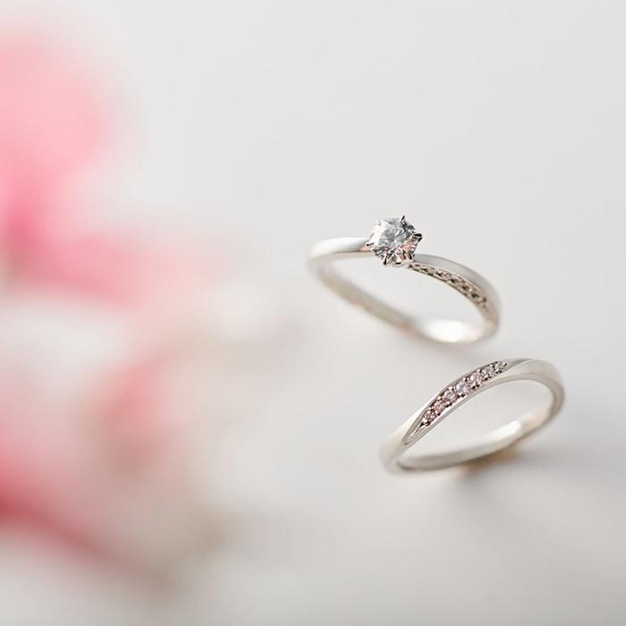 4℃ダイヤモンドの婚約指輪