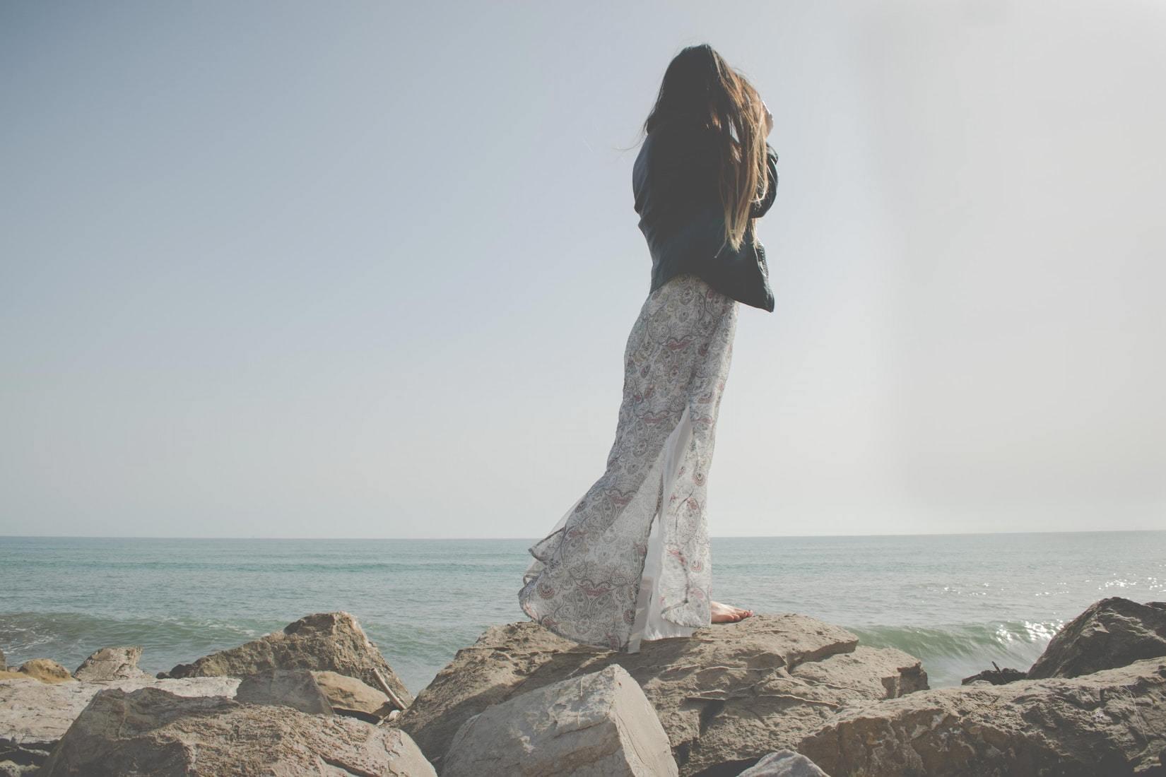 ロングサマードレス
