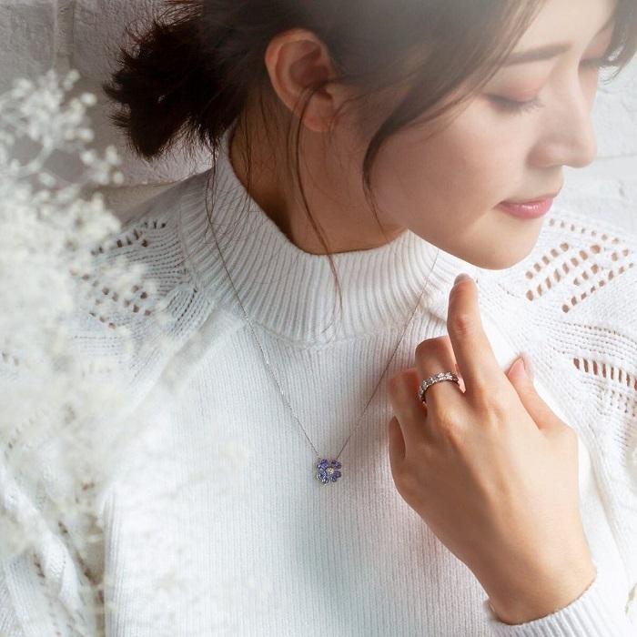 4℃のネックレスと指輪