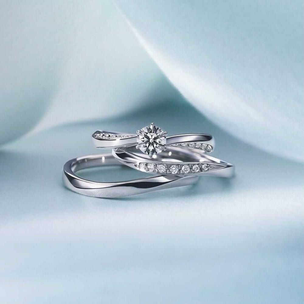 4℃の結婚指輪と婚約指輪