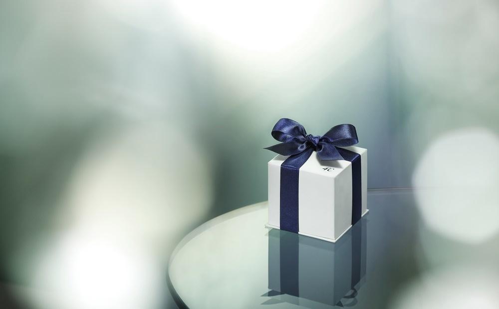 4℃のプレゼントボックス