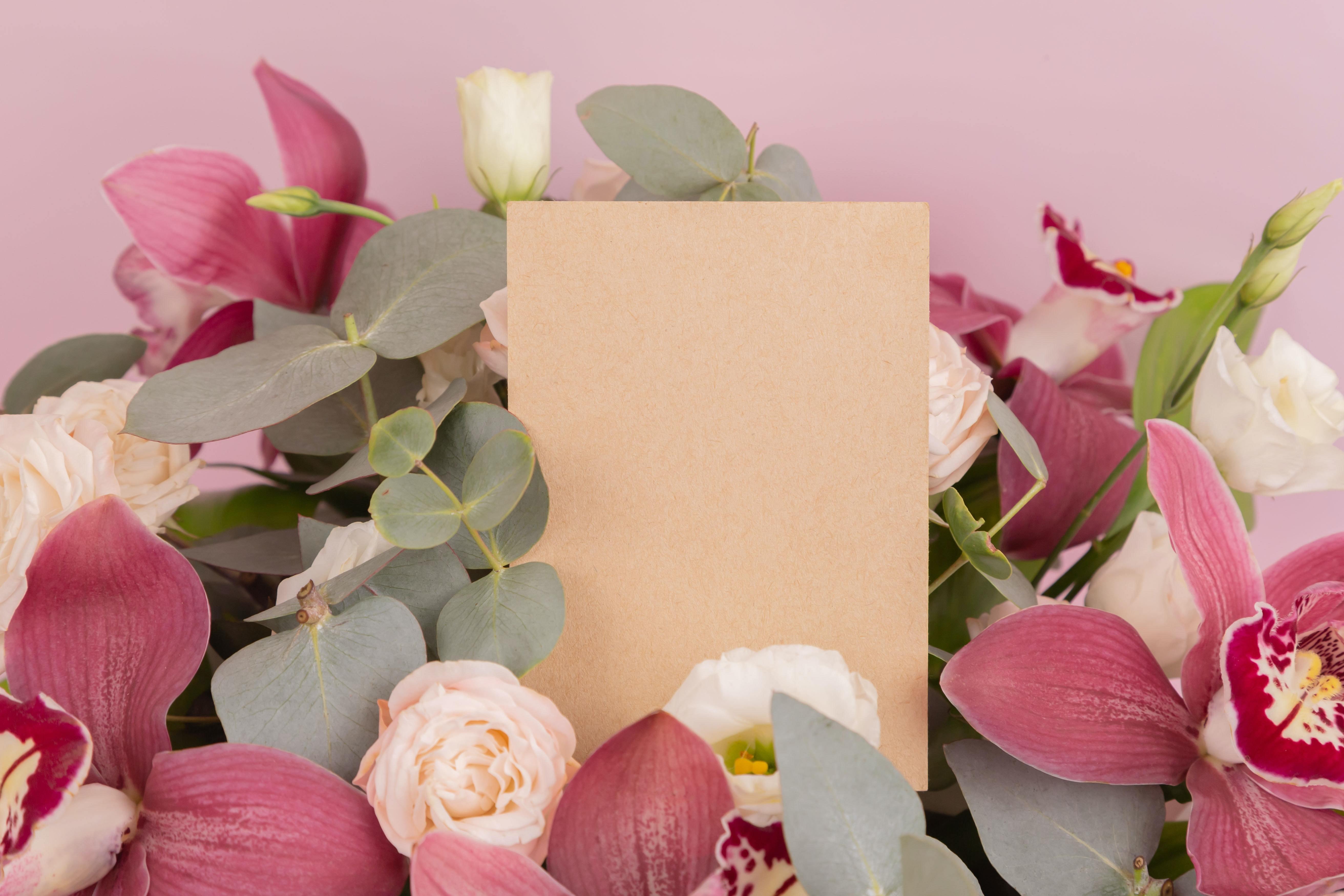 花とギフトカード