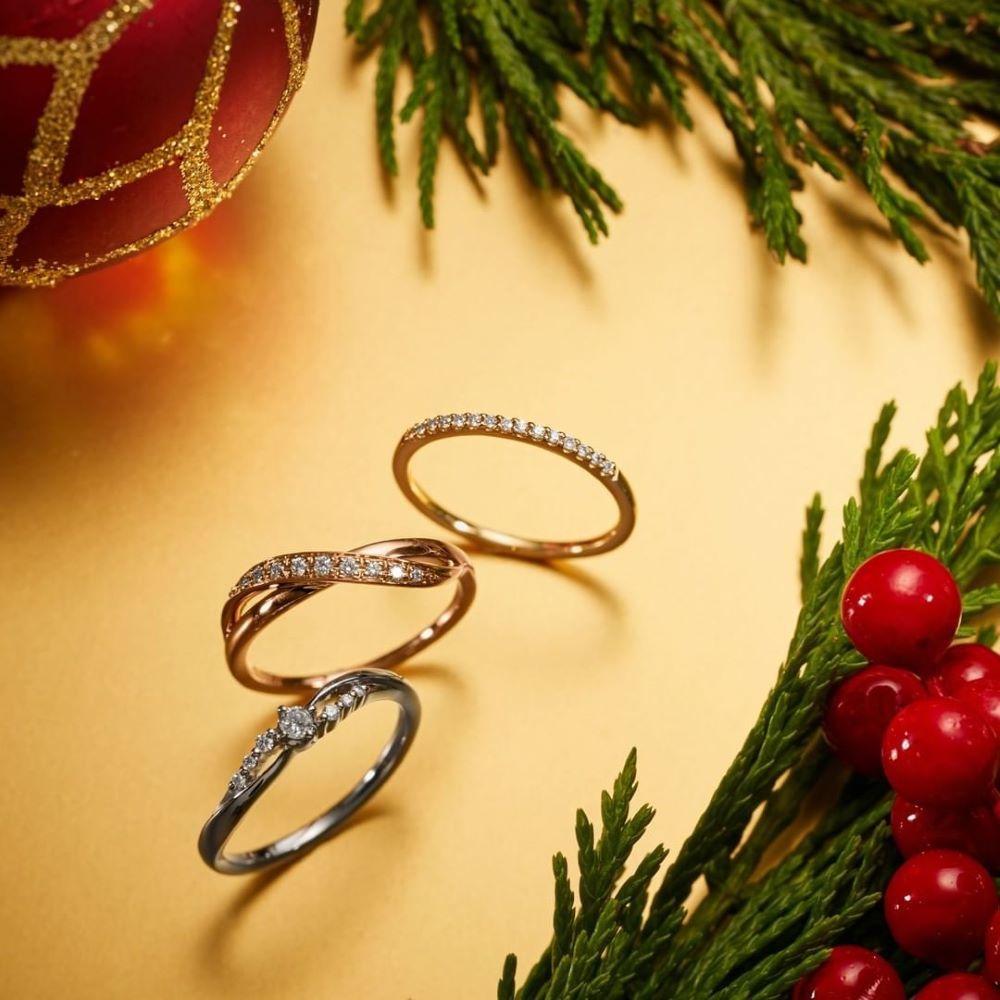 4℃のダイヤモンドリング