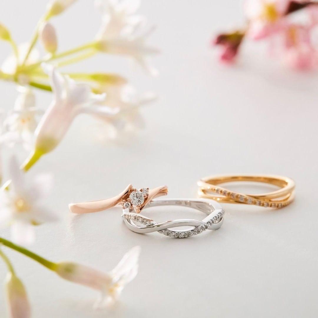 4℃のご褒美ダイヤモンドの指輪