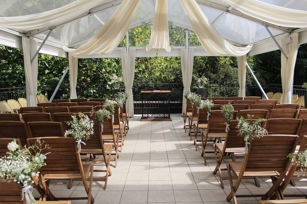 綺麗な結婚式会場