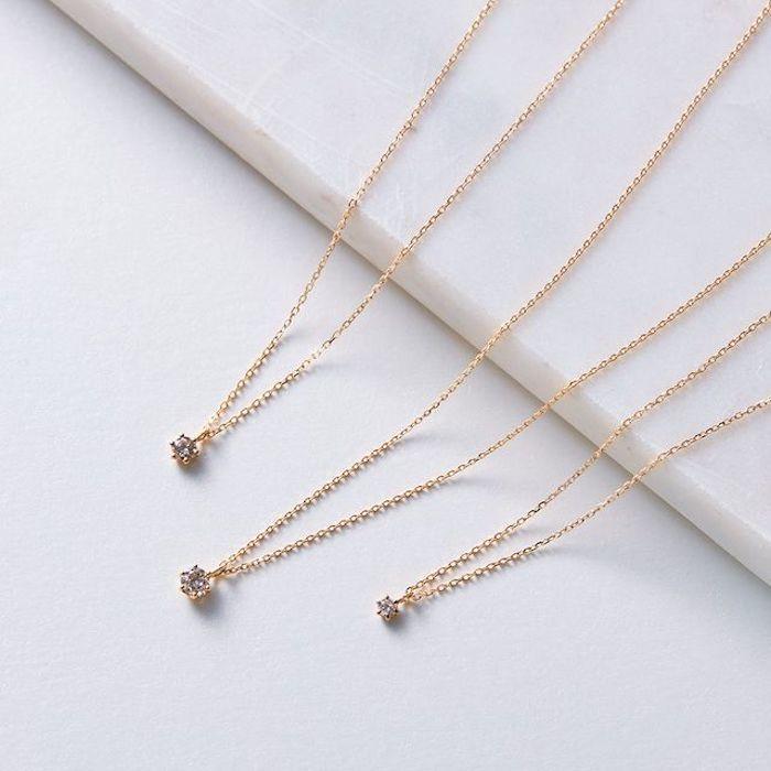 4℃のDiamond Necklace